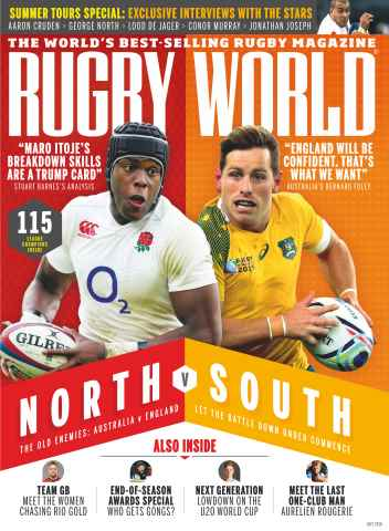 Rugby World issue July 2016
