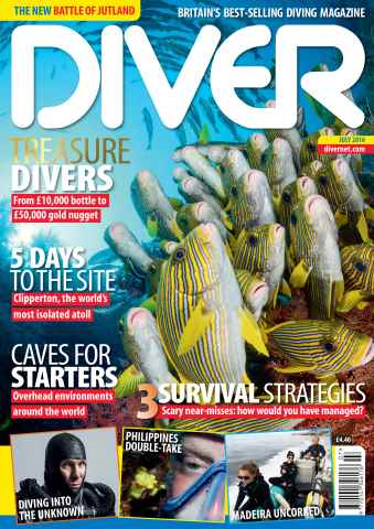 DIVER issue JULY 2016