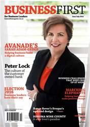 Business First Magazine issue Jun/Jul 2016