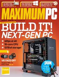 Maximum PC issue August 2016