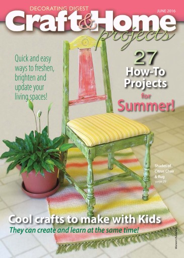 Craft & Home Projects Preview