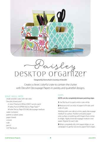 Craft & Home Projects Preview 4