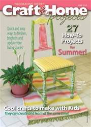 Craft & Home Projects issue June 2016