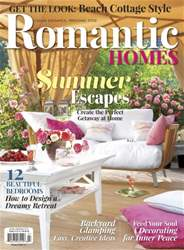 Romantic Homes issue July 2016