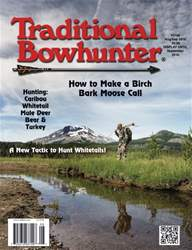 Traditional Bowhunter Magazine issue Aug/Sep 2016