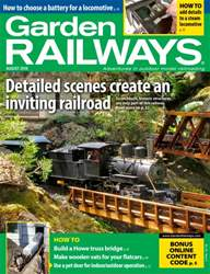 Garden Railways issue August 2016