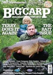 Big Carp Magazine issue Aug-16