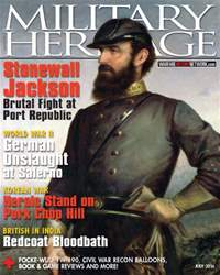 Military Heritage issue July 2016