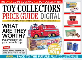 Toy Collectors Price Guide issue Summer 2016