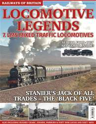 Railways of Britain issue Locomotive Legends No. 7 LMS Mixed Traffic Locomotives