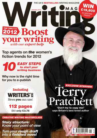 Writing Magazine issue January 2012