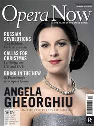 Opera Now issue Opera Now December 2011