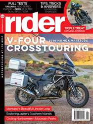 Rider Magazine issue August 2016