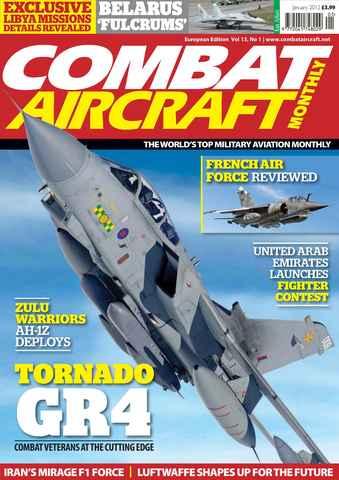 Combat Aircraft issue European Edition - Vol 13 No 1