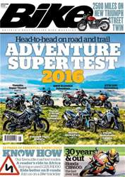 Bike issue August 2016