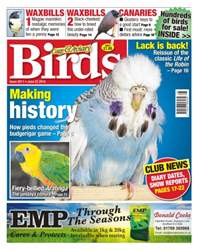 Cage & Aviary Birds issue No. 5911 - Making History