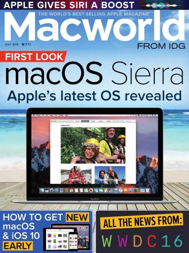 Macworld UK issue July 2016