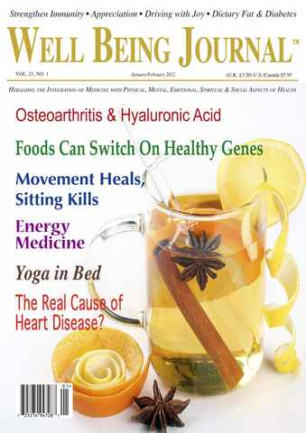Well Being Journal issue January February 2012
