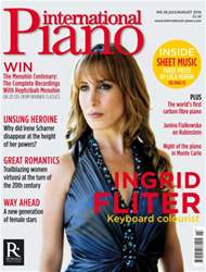 International Piano issue July - Aug 2016