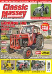 Classic Massey issue No. 63 Genuine 188 Calls The Shots