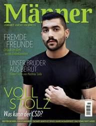 MÄNNER issue Männer 07.16 Juli