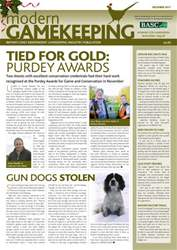 Modern Gamekeeping issue DECEMBER 2011