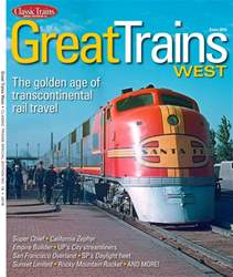 Great Trains West issue Great Trains West