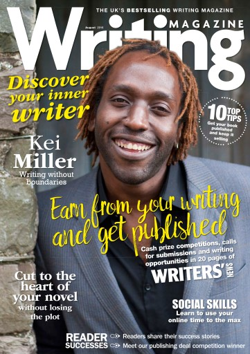 Writing Magazine issue August 2016
