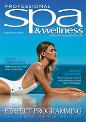 Professional Spa & Wellness issue PSW July/August 2016