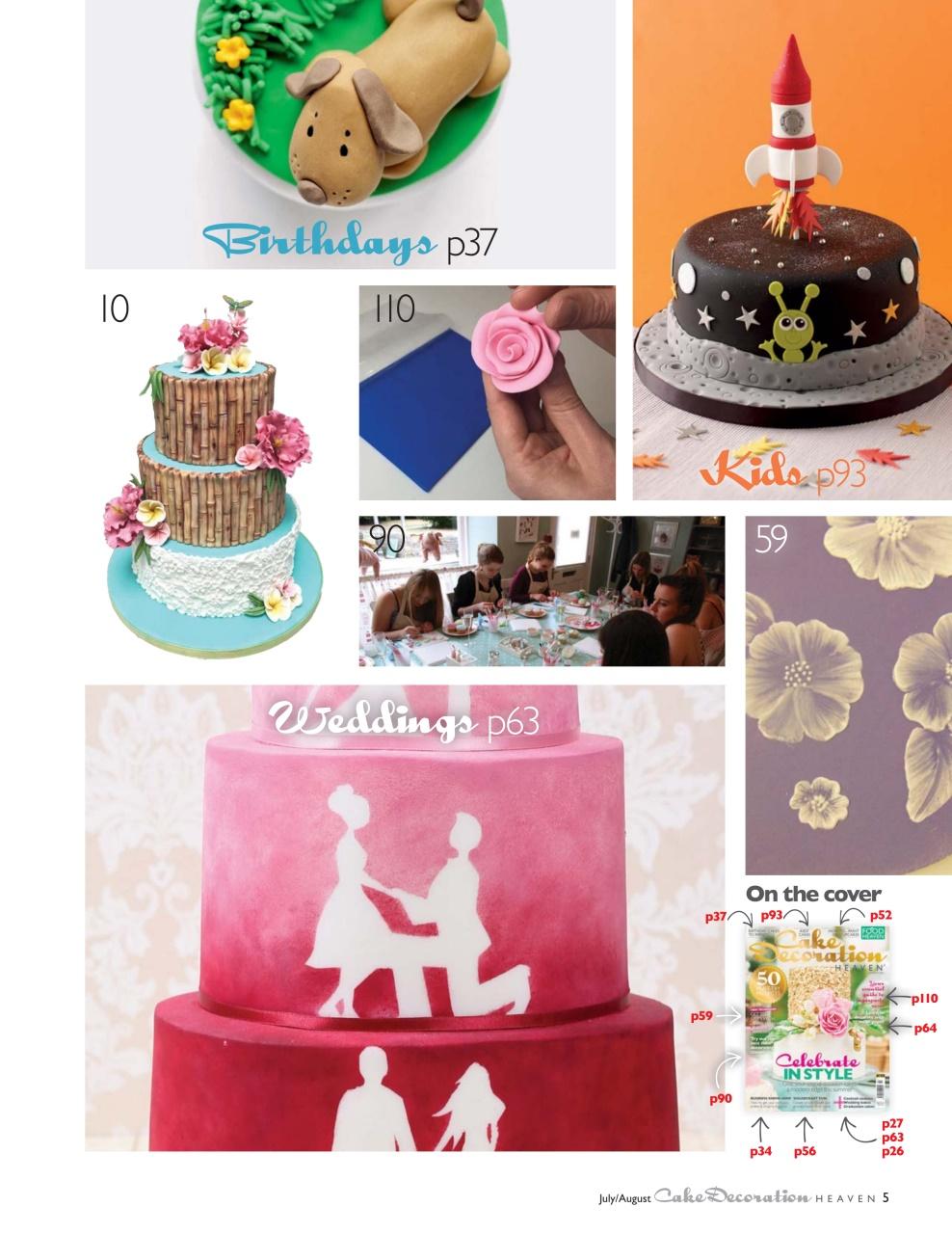 Cake Decorating Heaven Menai : Cake Decorating Heaven July/August 2016 Pocketmags.com