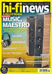 Hi-Fi News issue August 2016