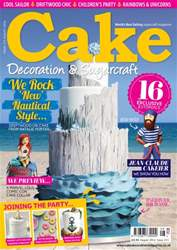 Cake Decoration & Sugarcraft Magazine issue August 2016