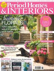 British Period Homes issue No. 74 Summer Florals