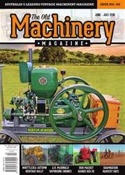 The Old Machinery Magazine issue June-July 2016