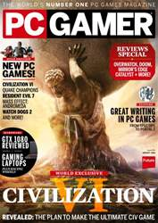 PC Gamer (UK Edition) issue August 2016