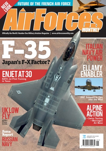 AirForces Monthly issue January 2012