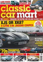 Classic Car Mart issue Vol. 22 No. 9 XJS or XK8?
