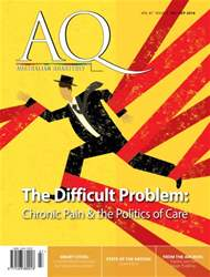 AQ: Australian Quarterly issue Australian Quarterly