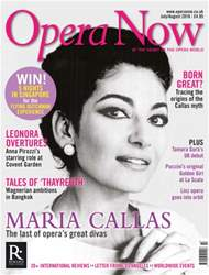 Opera Now issue July - August 2016