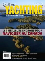 Quebec Yachting issue Été 2016