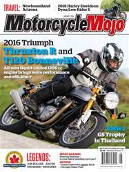 Motorcycle Mojo issue August 2016