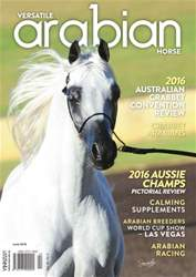 Australian Arabian Horse News issue Versatile Arabian Horse June 2016