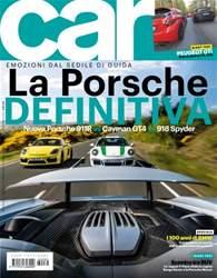 CAR magazine Italia issue OTTANTADUE