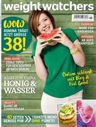 Weight Watchers Germany issue Aug/Sept Nr. 5 2016