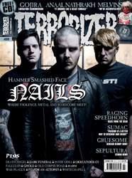 Terrorizer Magazine issue Terrorizer 272 - Nails