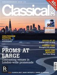 Classical Music issue July 2016