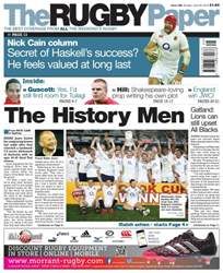 The Rugby Paper issue 26th June 2016