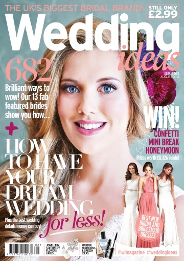 wedding ideas magazine wedding ideas magazine august 2016 subscriptions 27753