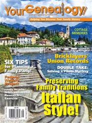 Your Genealogy Today issue Jul-Aug 2016