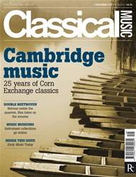 Classical Music issue Classical Music 3rd Dec 2011